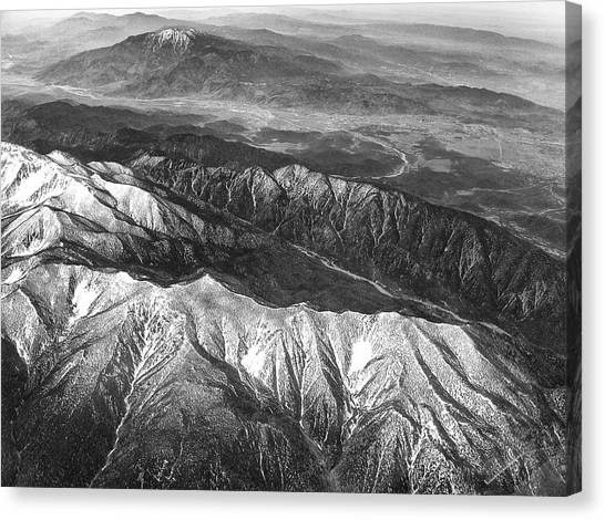 35,000 Feet Over Utah Canvas Print