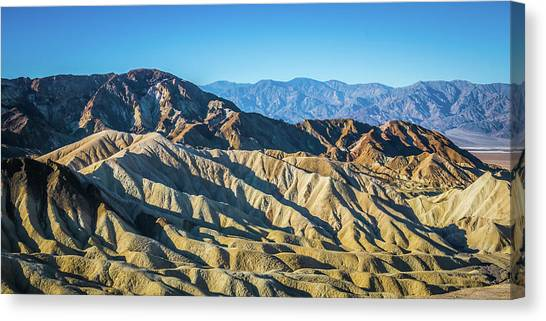 Canvas Print featuring the photograph Death Valley National Park Scenes In California by Alex Grichenko
