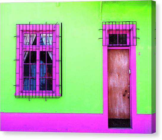 Canvas Print featuring the photograph 4 Calle Santiago by Rick Locke