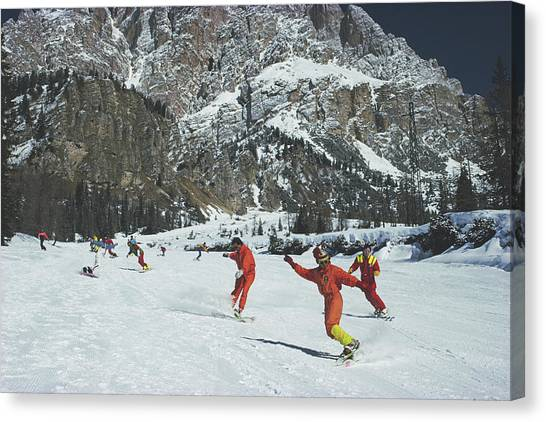 Cortina Dampezzo Canvas Print by Slim Aarons