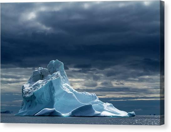 Glacier Bay Canvas Print - Icebergs, Disko Bay, Greenland by Paul Souders