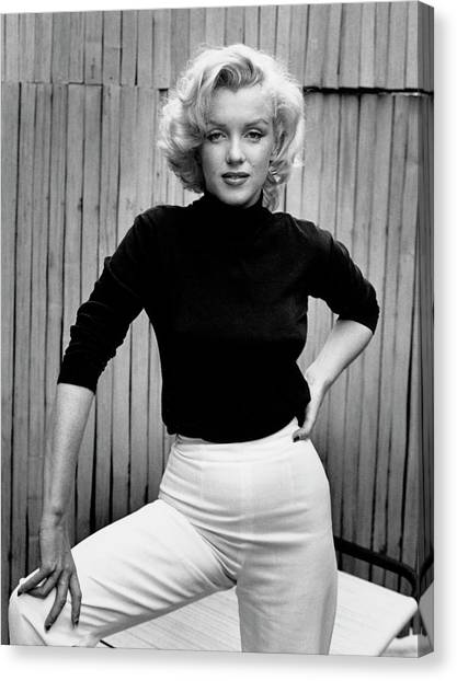 Marilyn Monroe Canvas Print by Alfred Eisenstaedt