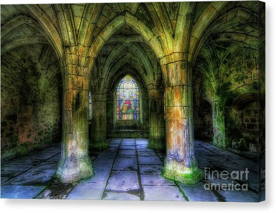 Valle Crucis Abbey Canvas Print