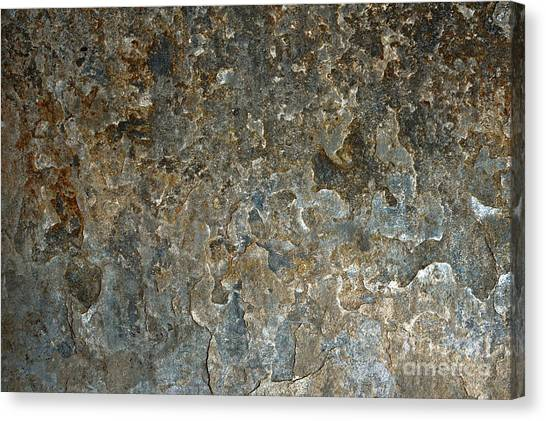 Canvas Print - Weathered Stone Wall by Tom Gowanlock