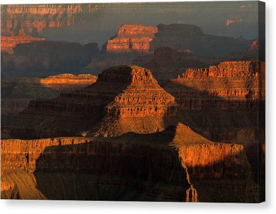 Usa, Arizona, Grand Canyon National Park Canvas Print by Jaynes Gallery