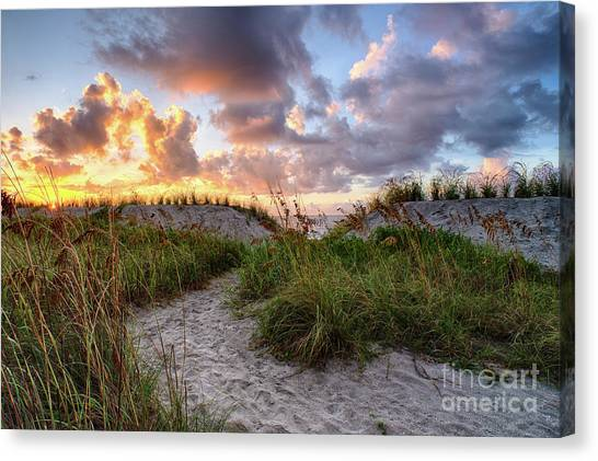 48th Ave. Sunrise North Myrtle Beach Canvas Print