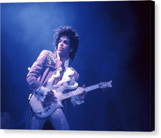 Prince Live In La Canvas Print