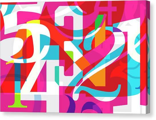 54321 Canvas Print