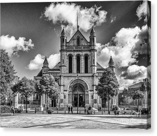 Belfast Cathedral, St. Anne's Canvas Print