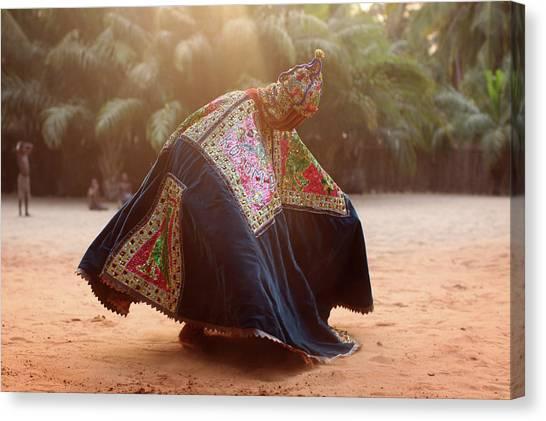 Nigeria Canvas Print - Benins Mysterious Voodoo Religion Is by Dan Kitwood