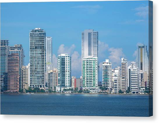 Colombia, Cartagena Canvas Print by Cindy Miller Hopkins
