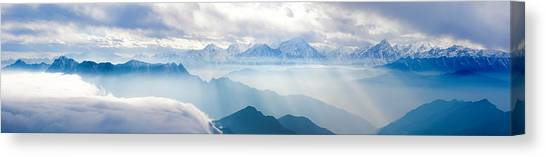 Landscapes In China Canvas Print by 4x-image