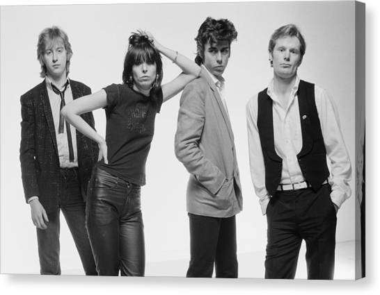 The Pretenders Canvas Print
