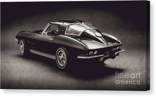 Coupe Canvas Print - 63 Chevrolet Corvette Stingray by Jorgo Photography - Wall Art Gallery