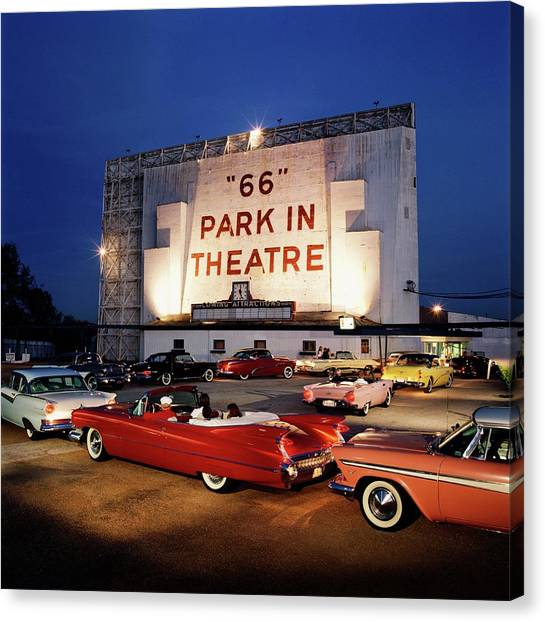 66 Park-in Theater Canvas Print