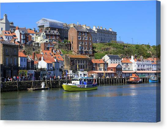 England, North Yorkshire, Whitby Canvas Print by Emily Wilson