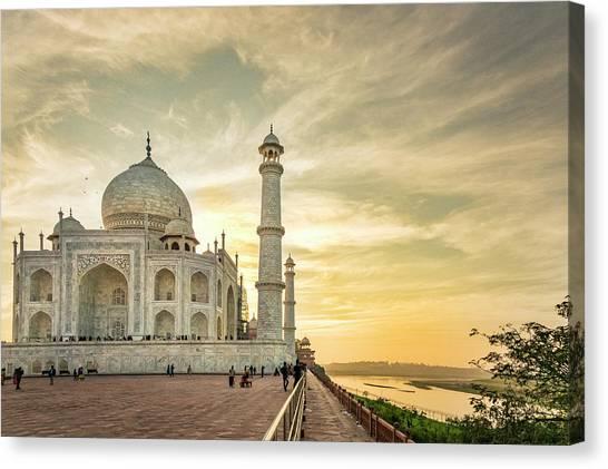 India, Uttar Pradesh Canvas Print by Alison Jones