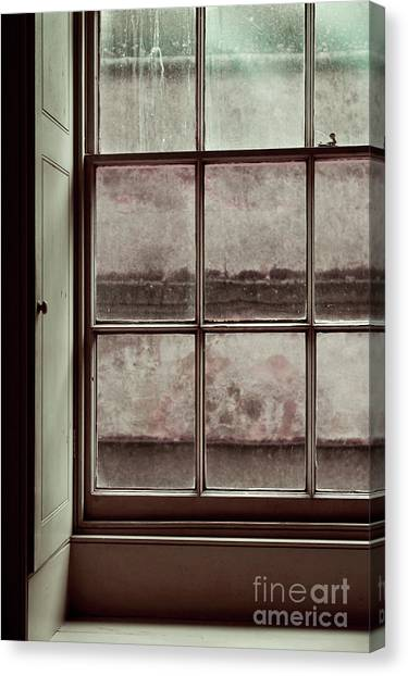 Canvas Print - Old Window Frame by Tom Gowanlock