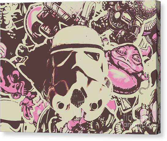 Droid Canvas Print - A Battle Storm by Jorgo Photography - Wall Art Gallery