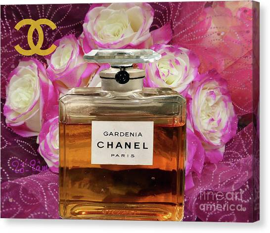 Jimmy Choo Canvas Print - A Bouquet For My Valentine by To-Tam Gerwe