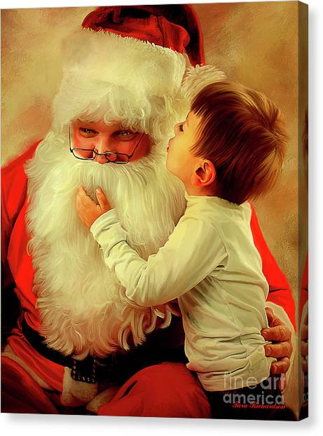 A Christmas Wish Canvas Print