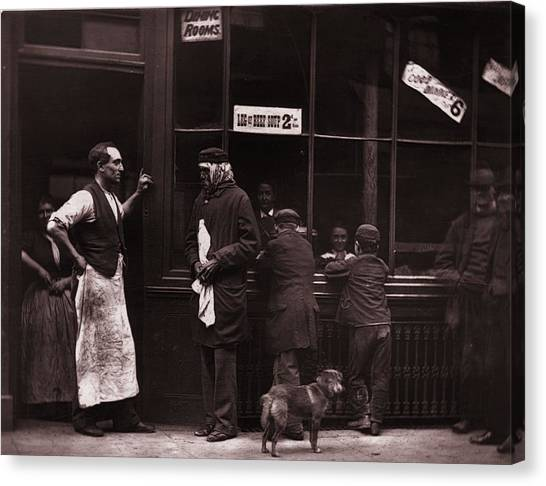 A Convicts Home Canvas Print by John Thomson