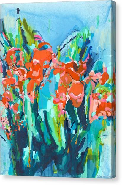 Canvas Print - A December Dream by Claire Desjardins