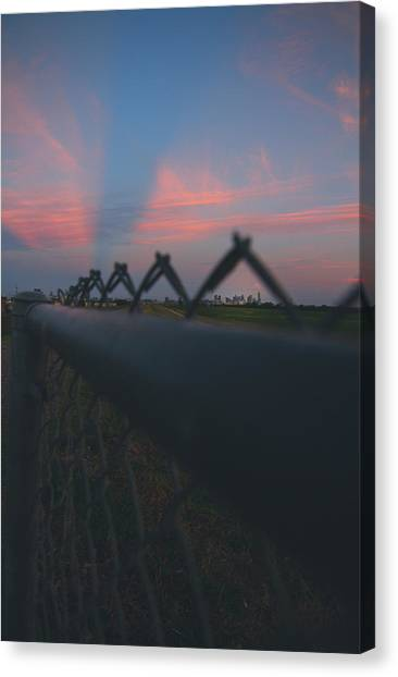 A Fence Canvas Print