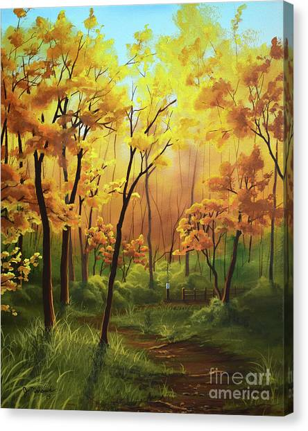 A Forgotten Trail Canvas Print