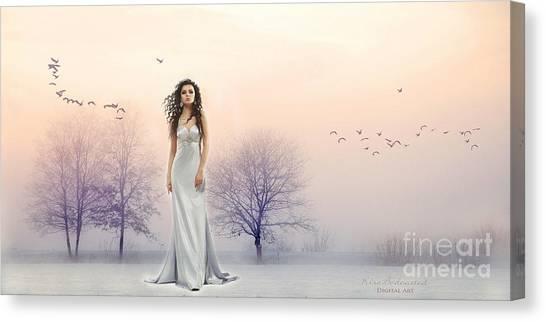 A Hazy Shade Of Winter Canvas Print