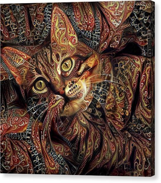 A Little Cinnamon Canvas Print