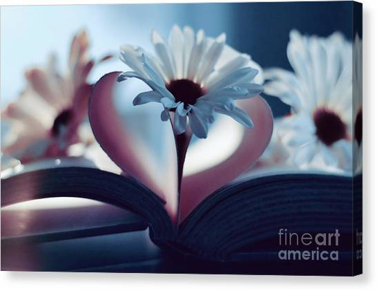 A Little Love And Light In Your Heart Canvas Print