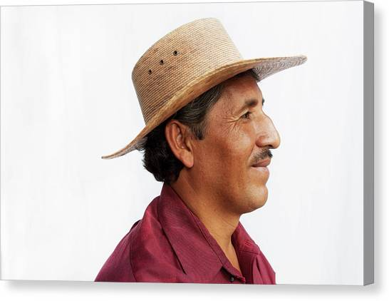 A Mexican Man Canvas Print