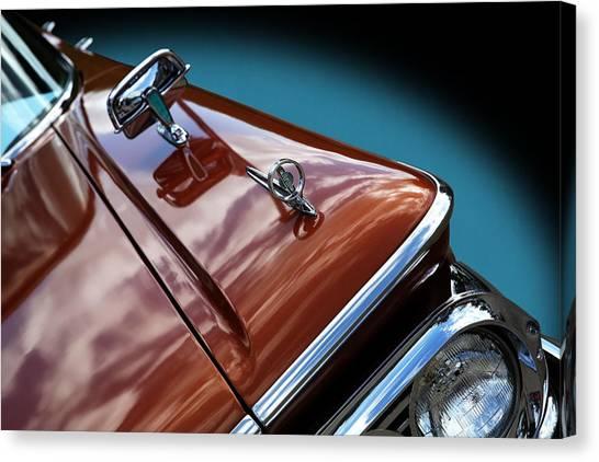 A New Slant On An Old Vehicle - 1959 Edsel Corsair Canvas Print
