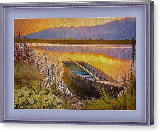 A Perfect Day Canvas Print
