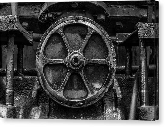 Trainspotting Canvas Print - A Round To It by Enzwell Designs
