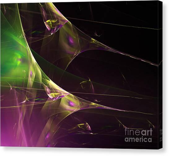 A Space Aurora Canvas Print