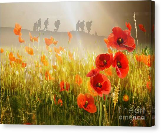 A Time To Remember Canvas Print