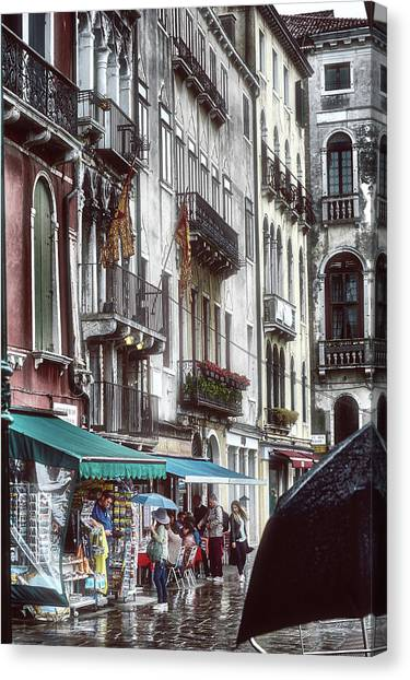 A Typical Venetian Day Canvas Print