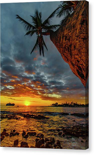 A Typical Wednesday Sunset Canvas Print