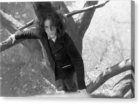 A Woman In A Tree, 1972 Canvas Print