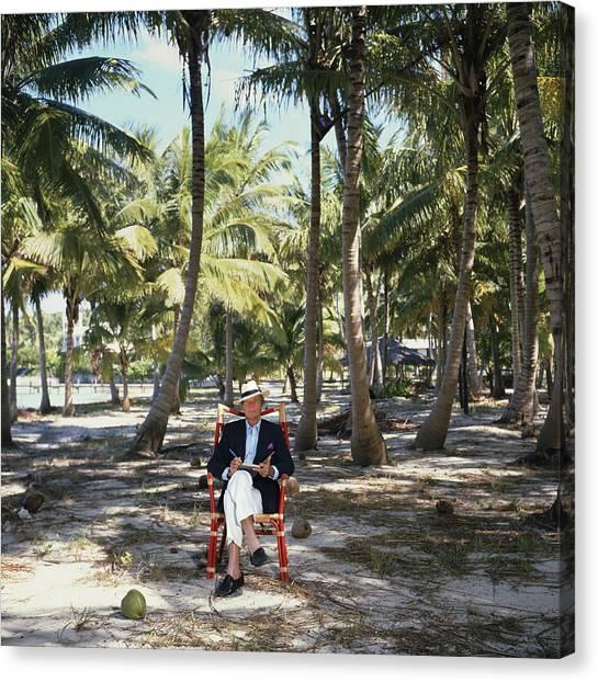 Abaco Islander Canvas Print by Slim Aarons