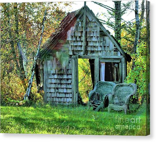 Abandoned Shack Canvas Print