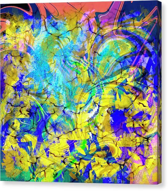 Abs Art 10november2018 Canvas Print