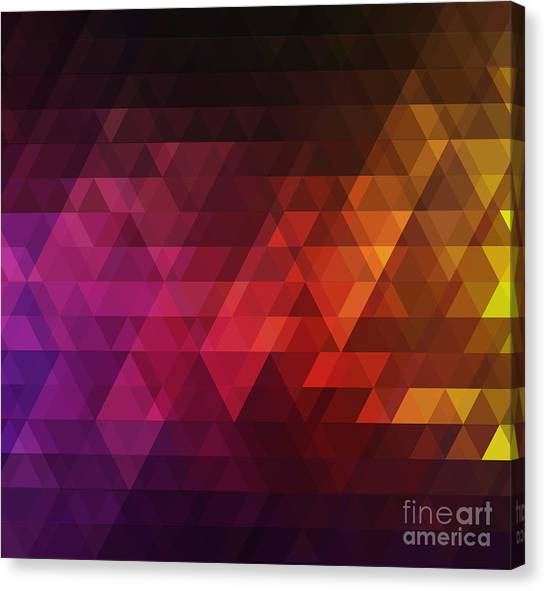 Form Canvas Print - Abstract Background For Design by Melamory