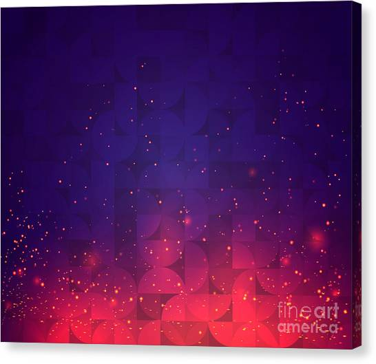 Block Canvas Print - Abstract Background For Design. Vector by Skillup