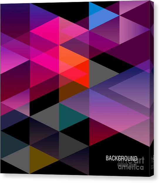Form Canvas Print - Abstract Background For Design by Windesign
