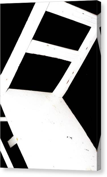 Canvas Print featuring the photograph Abstract 1 / The Chair Project by Dutch Bieber