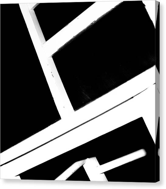 Canvas Print featuring the photograph Abstract 2 / The Chair Project by Dutch Bieber