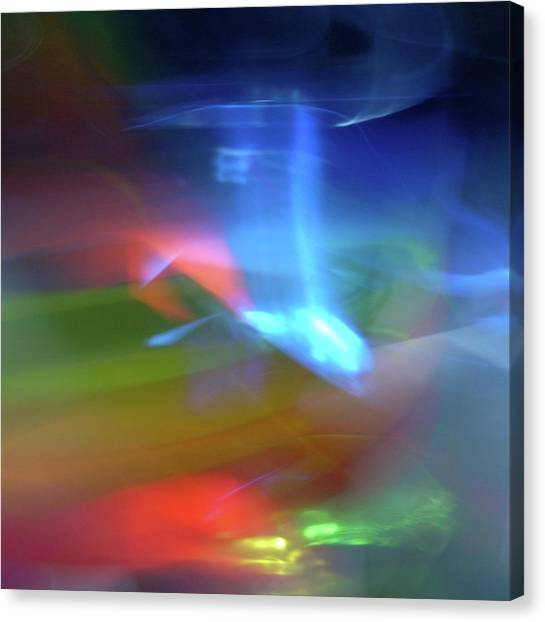Abstract Color Canvas Print by I Love Photo And Apple.